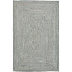 Safavieh Hand-woven Reversible Grey Braided Rug (4' x 6')