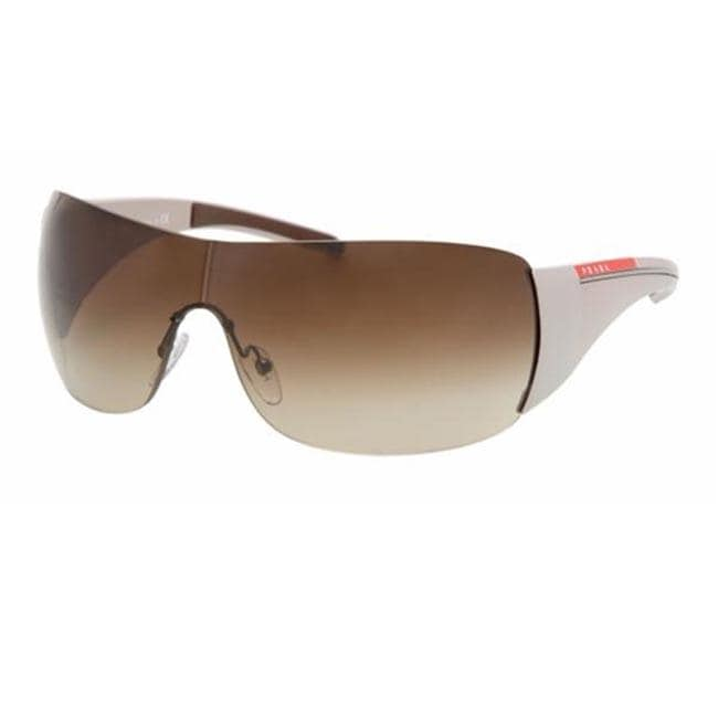 62d02f688d247 Shop Prada Sport PS 02LS White Shield Sunglasses - Free Shipping Today -  Overstock - 5947006