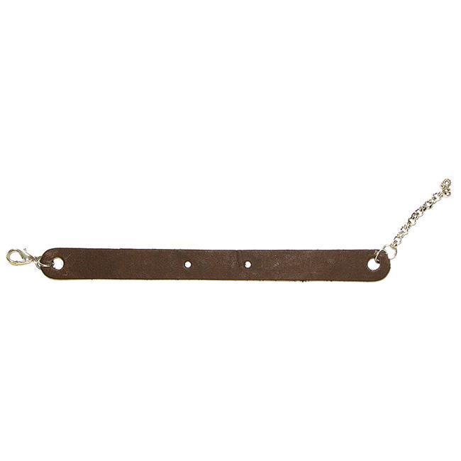 Silver Creek 7-inch Brown Leather Bracelet
