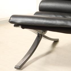 Carter Black X-Frame Chair