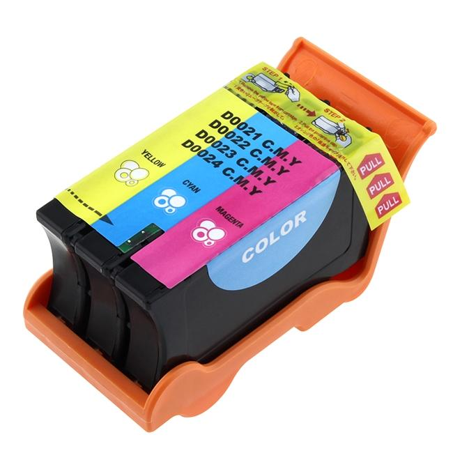 INSTEN Dell 21/ 22/ 23/ 24 Compatible Color Ink Cartridge