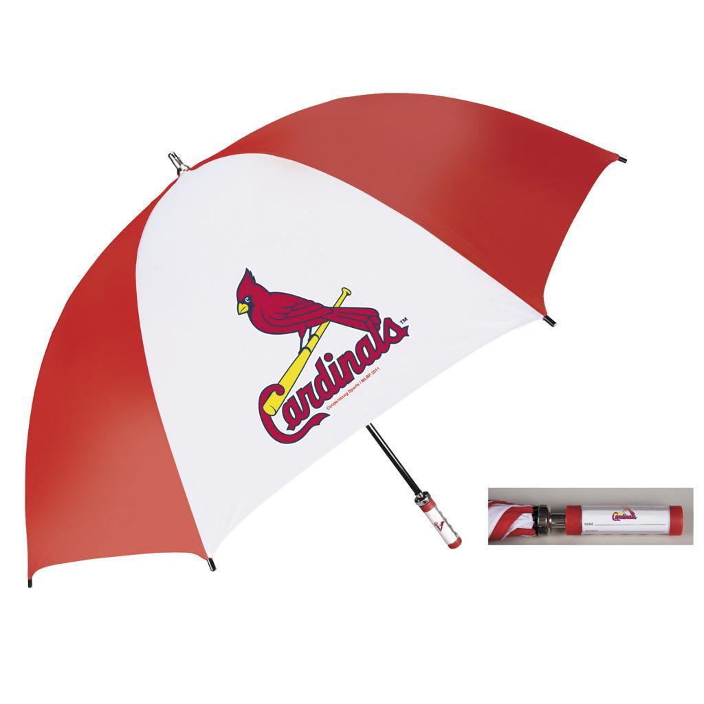 Coopersburg 62-in St. Louis Cardinals Golf Umbrella