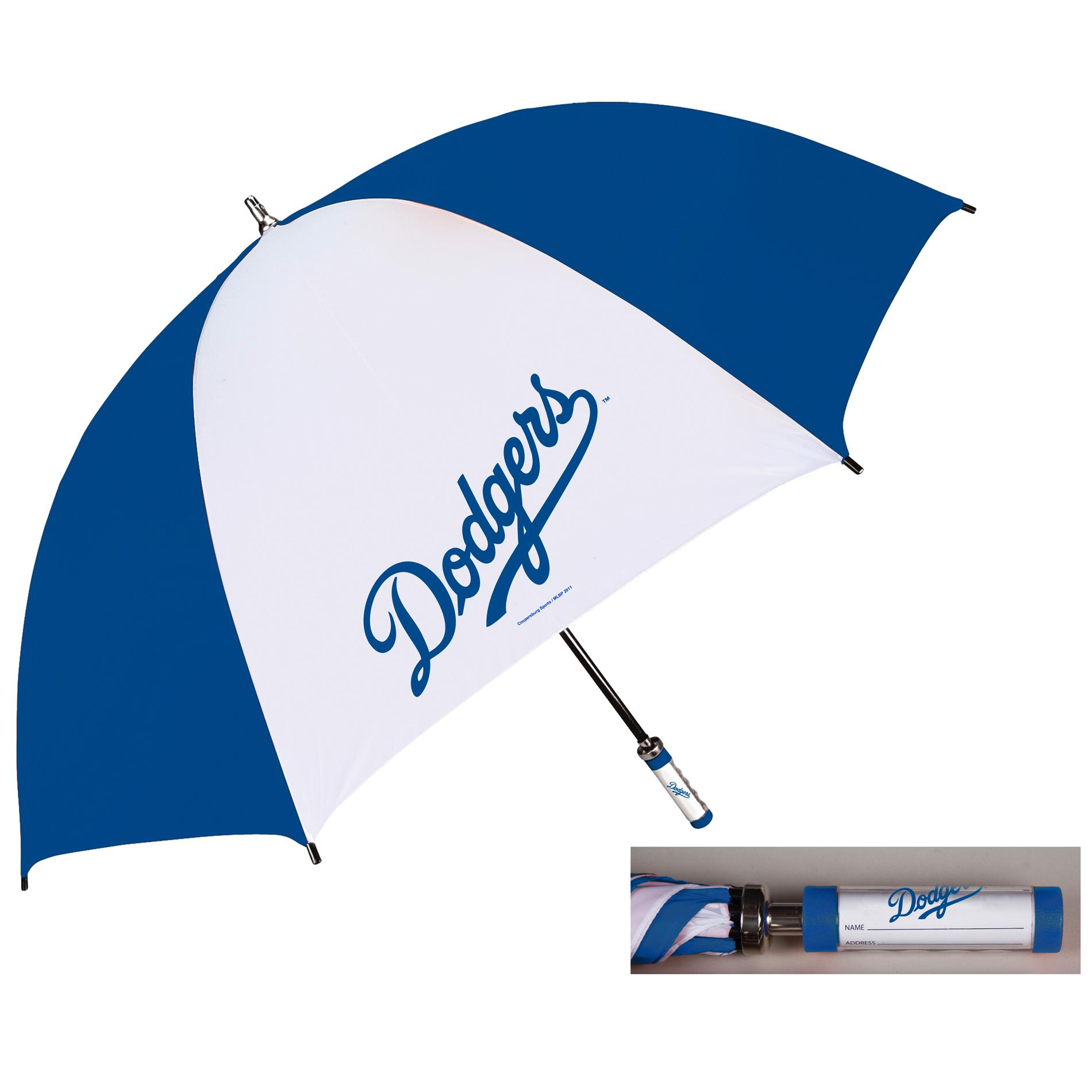 Coopersburg 62-in Los Angeles Dodgers Golf Umbrella