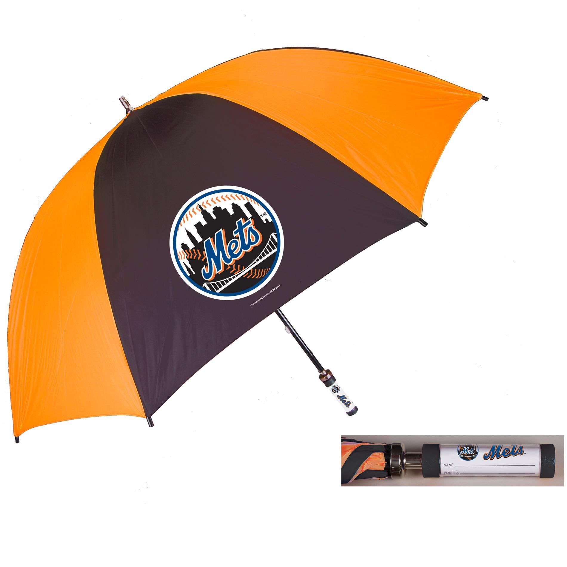 Coopersburg 62-in New York Mets Golf Umbrella