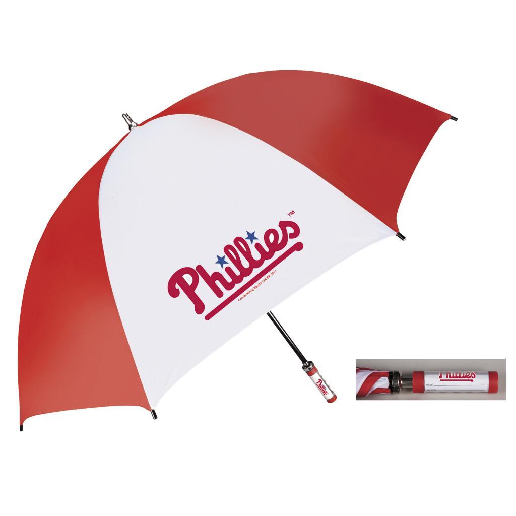 Coopersburg 62-in Philadelphia Phillies Golf Umbrella