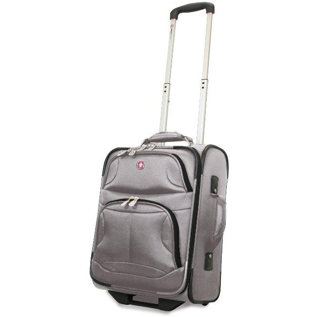 Wenger SwissGear 'Zurich' Grey 17-inch Carry-on Upright - Free ...