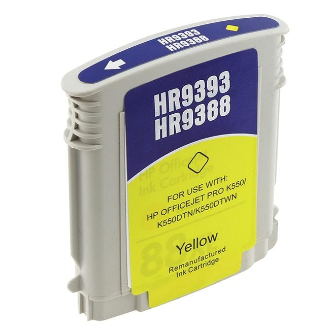 HP 88XL C9393AN/ C9388AN Yellow Ink (Remanufactured)