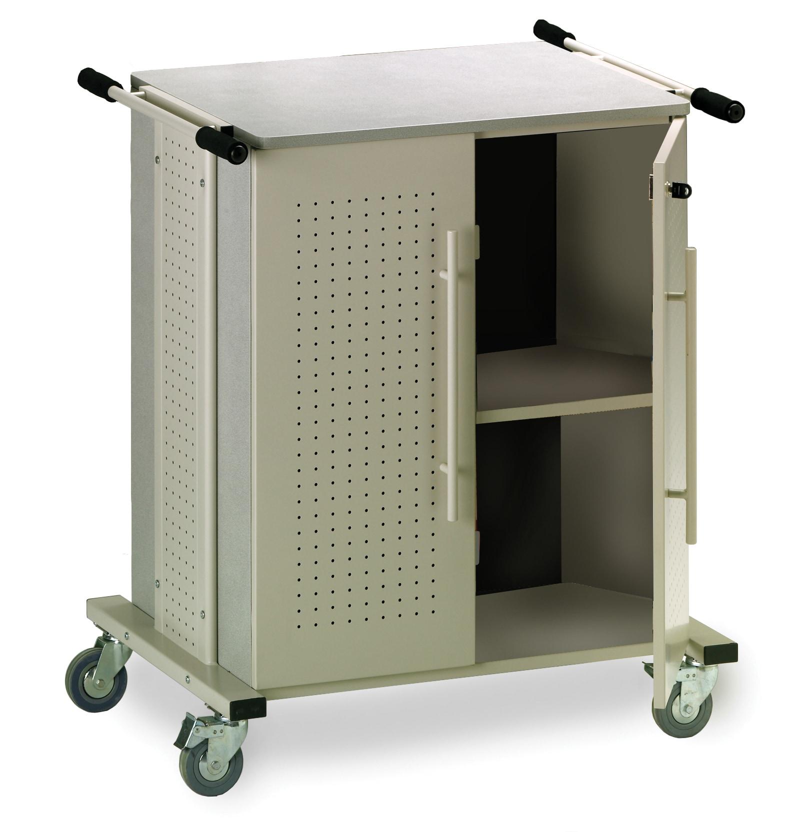 Kwikfile/ Mayline Heavy-duty Mobile X-ray Storage Cart