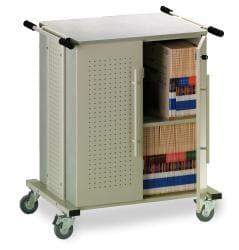 Kwikfile/ Mayline Heavy-duty Mobile X-ray Storage Cart - Thumbnail 1