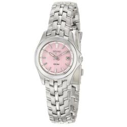 Seiko Women's 'Dress' Stainless Steel Quartz Date Watch