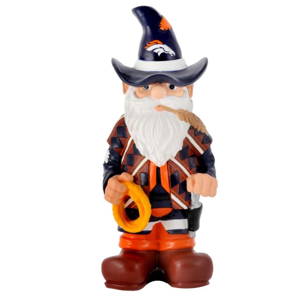 Denver Broncos 11-inch Thematic Garden Gnome