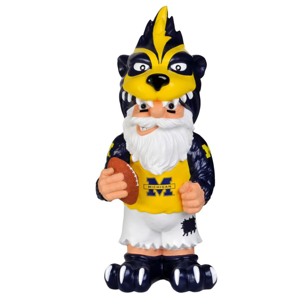 Michigan Wolverines 11-inch Thematic Garden Gnome