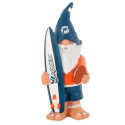 Miami Dolphins 11-inch Thematic Garden Gnome - Thumbnail 1