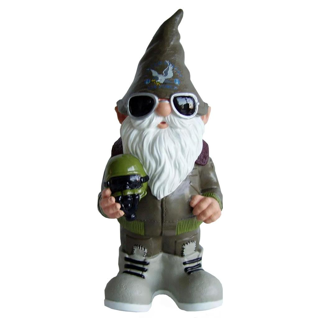 United States Air Force 11-inch Thematic Garden Gnome