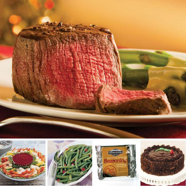 (Preorder) Father's Day Omaha Steaks Steak and Shrimp Dinner
