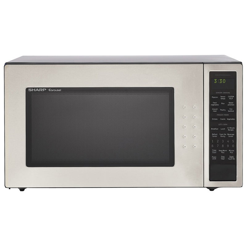Sharp 2.0 Cu. Ft. Stainless Steel 1200W Full-Size Microwave Oven