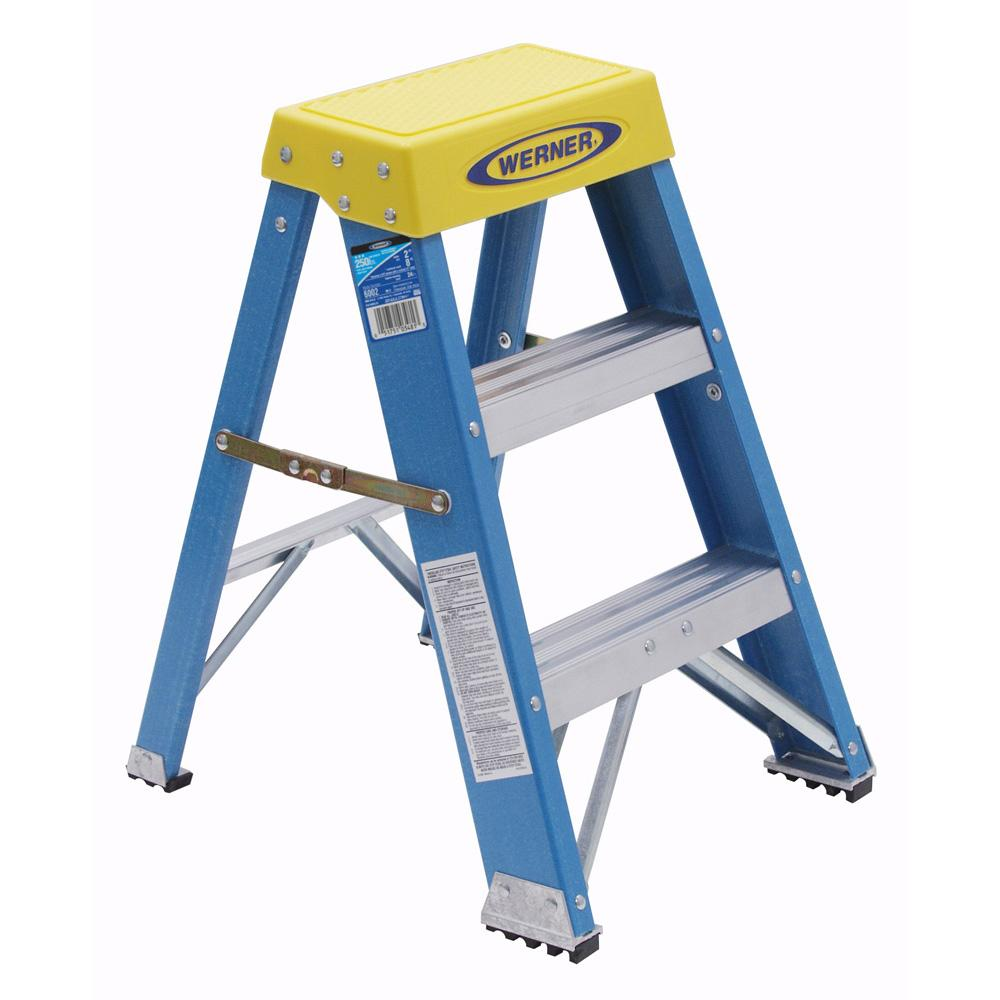 Werner Ladder 2 Foot Step Ladder Free Shipping Today