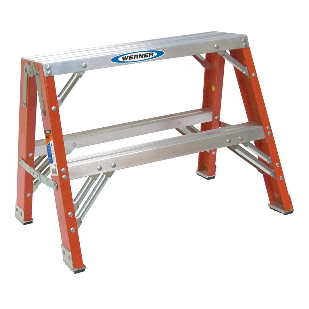 Shop Werner Ladder 2 Foot Portable Work Stand Free