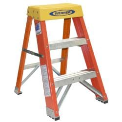 Shop Werner Ladder 2 Foot Step Ladder Free Shipping