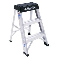 Werner Ladder Aluminum Step Stool