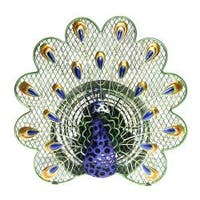 Deco Breeze DBF0268 Peacock Figurine Fan