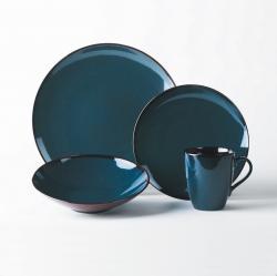 Mikasa Sedona Blue 4-piece Dinnerware Set