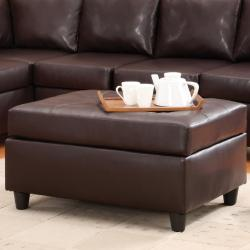 Jasper Sectional Sofa and Ottoman Set - Thumbnail 1