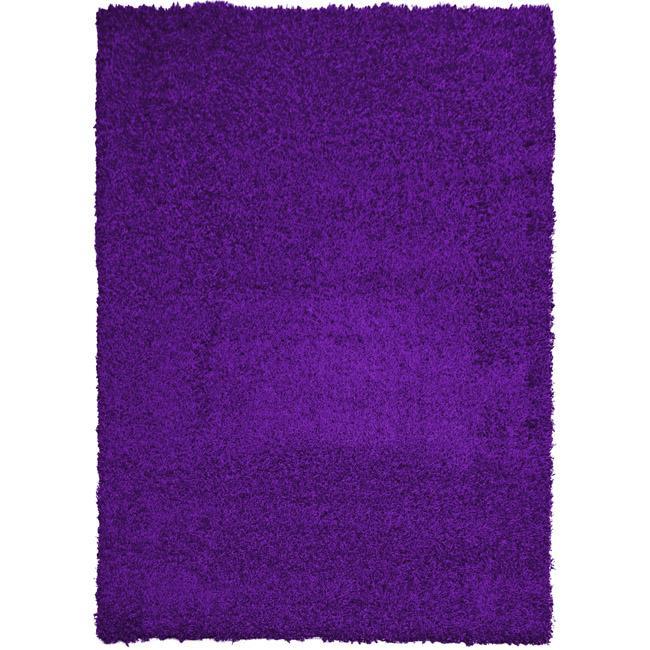 Shop Indoor Purple Shag Area Rug 5 X 7 Free Shipping
