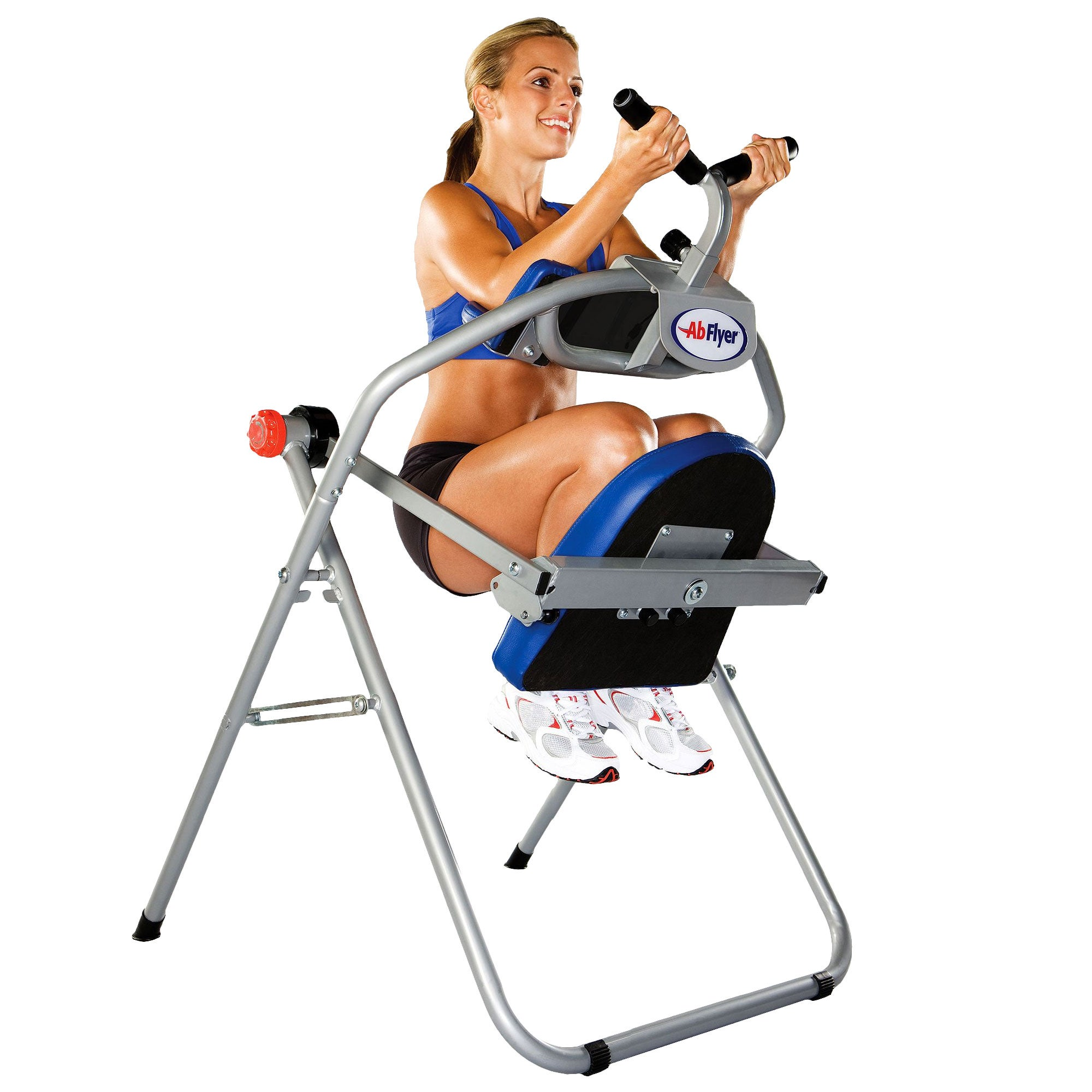 Ab Flyer Machine and Training Guide/ DVD Workout Set ...