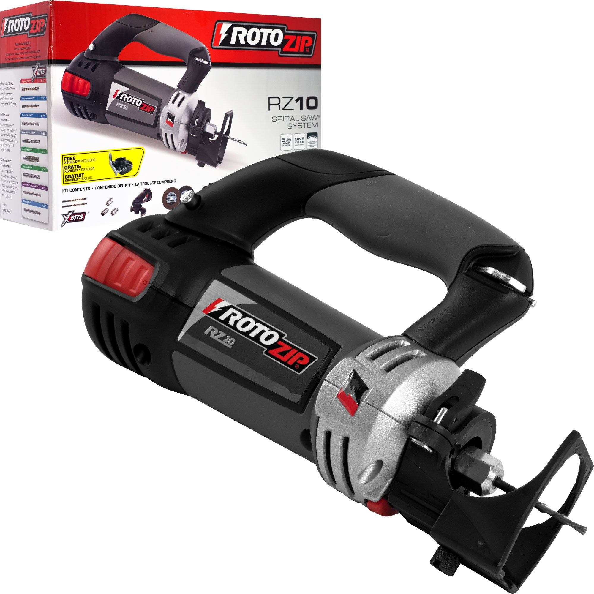 Bosch RotoZip RZ18V Cordless Spiral Saw - Free Shipping Today ...