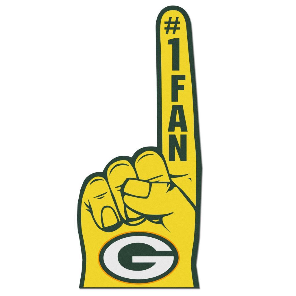 Green Bay Packers #1 Fan Foam Finger - Thumbnail 1