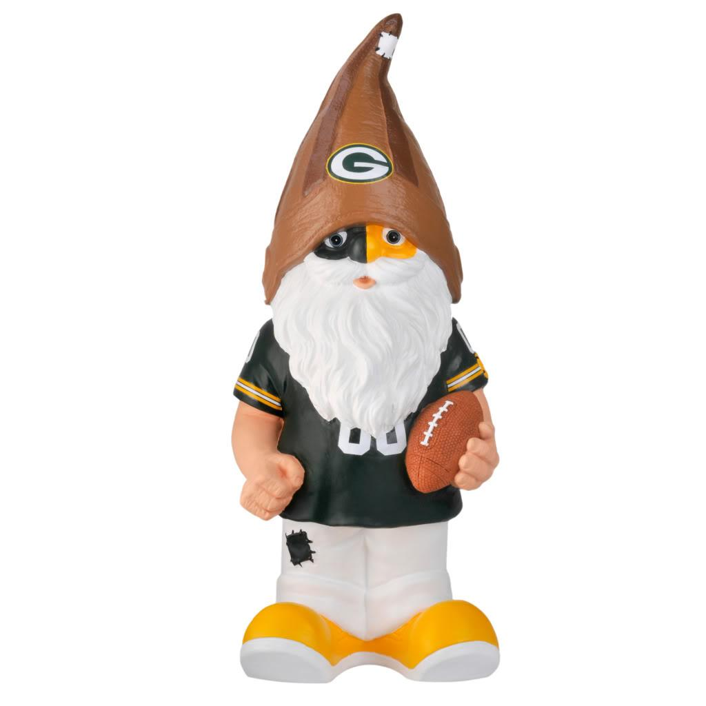 Green Bay Packers 11-inch Thematic Garden Gnome - Thumbnail 1