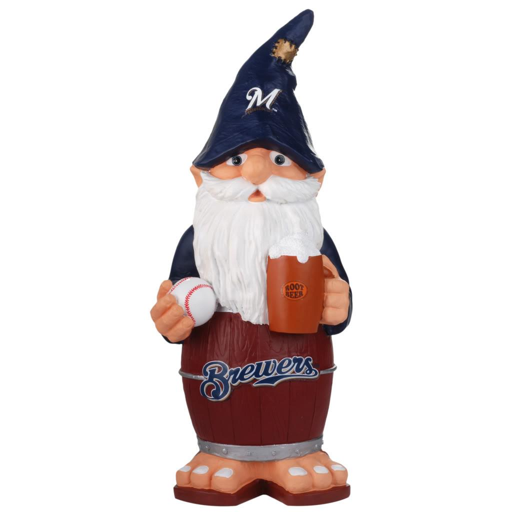 Milwaukee Brewers 11-inch Thematic Garden Gnome
