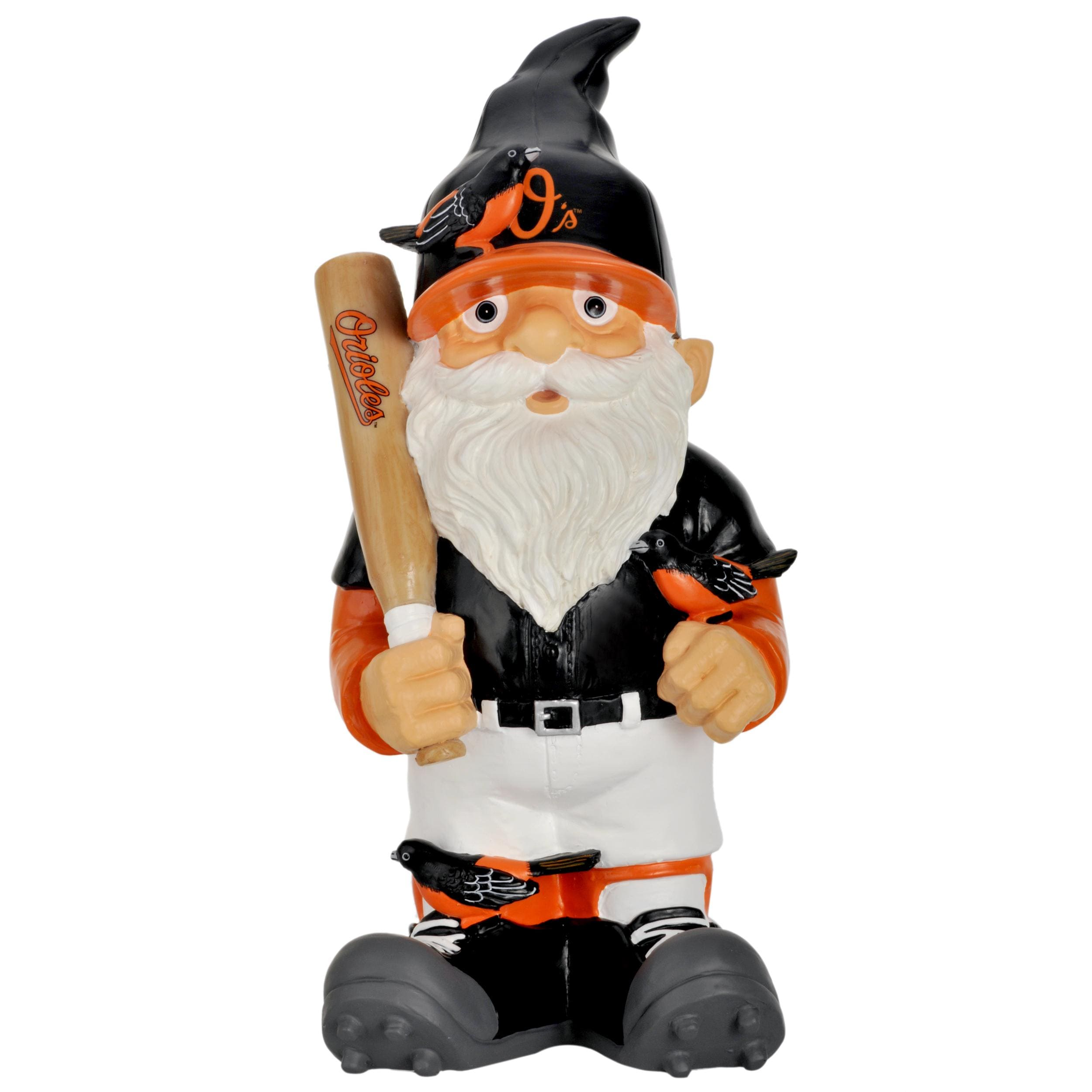 Baltimore Orioles 11-inch Thematic Garden Gnome - Thumbnail 1