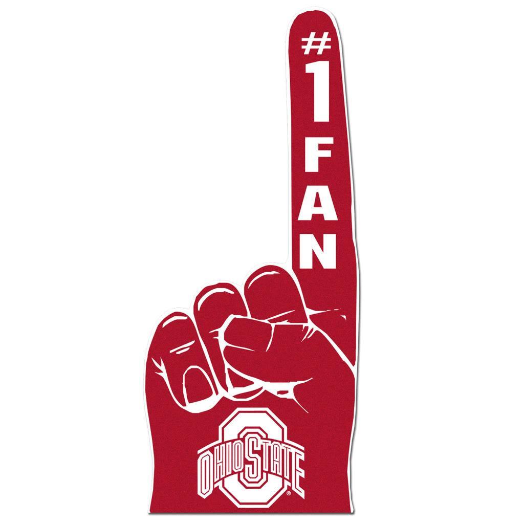 Ohio State Buckeyes #1 Fan Foam Finger