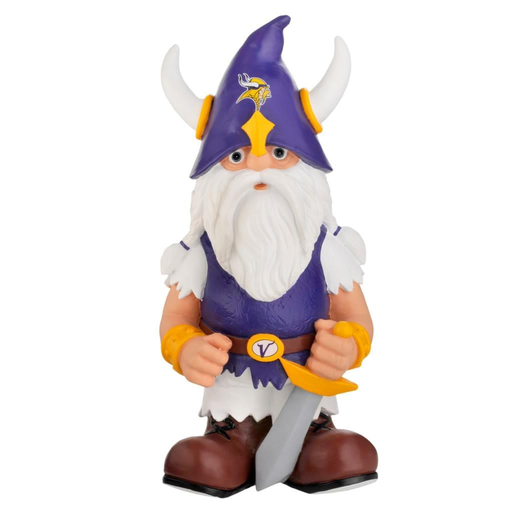 Garden Gnomes On Sale: Forever Collectibles Minnesota Vikings 11-inch Thematic