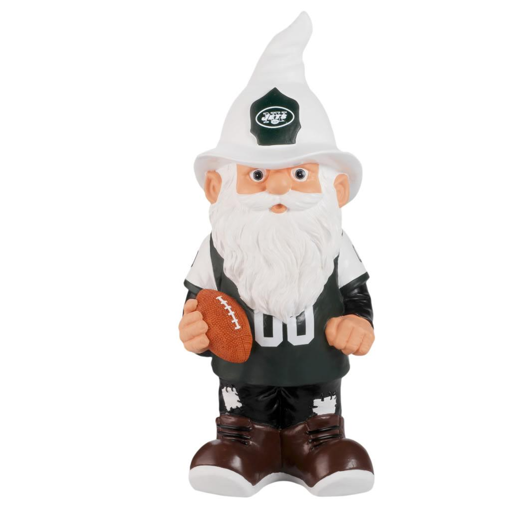 New York Jets 11-inch Thematic Garden Gnome - Thumbnail 2