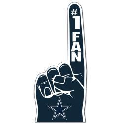 Shop Dallas Cowboys 1 Fan Foam Finger Free Shipping On