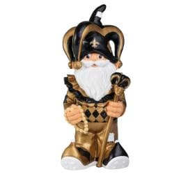 New Orleans Saints 11-inch Thematic Garden Gnome - Thumbnail 0