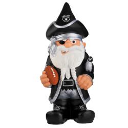 Oakland Raiders 11-inch Thematic Garden Gnome - Thumbnail 0