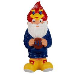 Kansas Jayhawks 11-inch Thematic Garden Gnome - Thumbnail 0