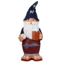 Milwaukee Brewers 11-inch Thematic Garden Gnome - Thumbnail 0