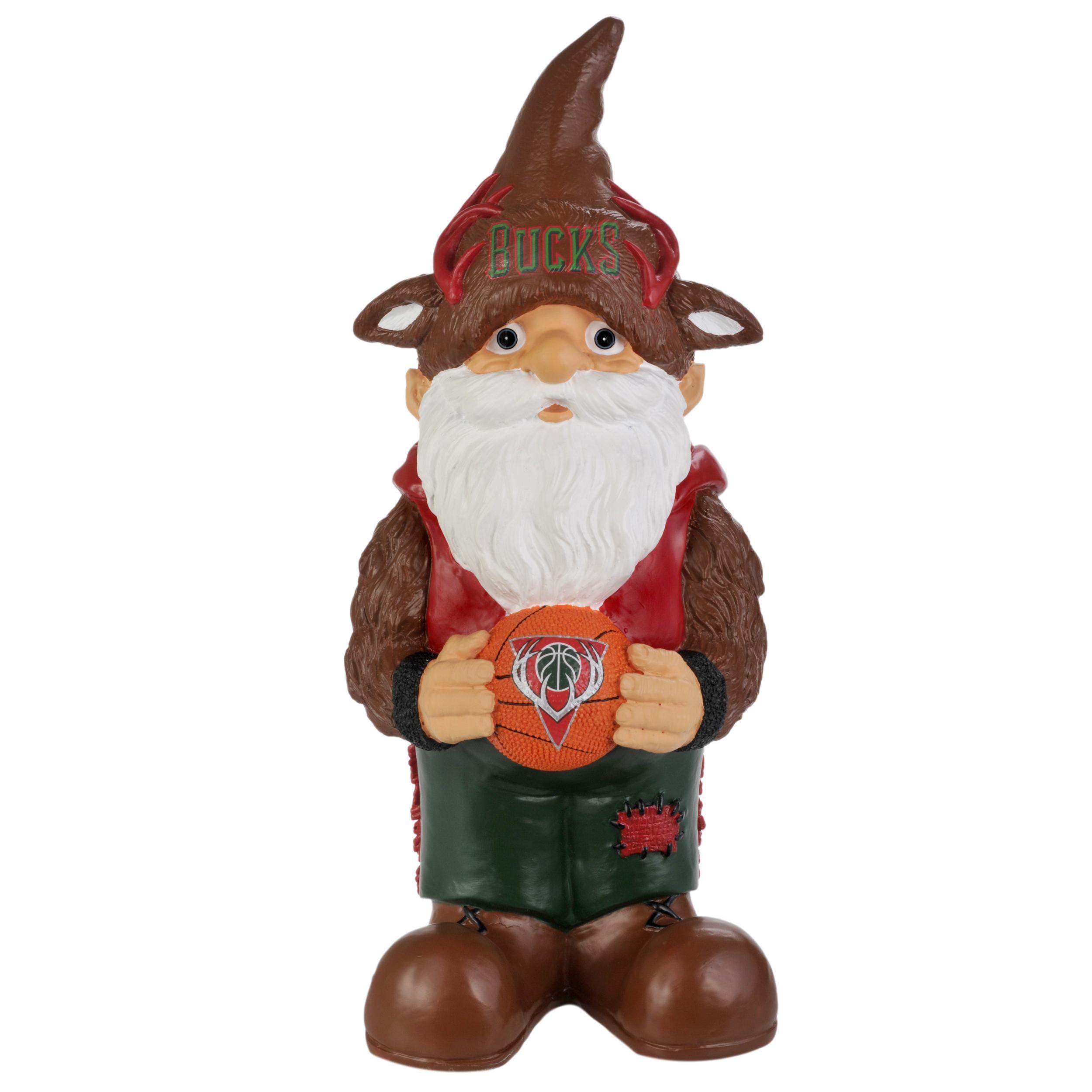 Milwaukee Bucks 11-inch Thematic Garden Gnome