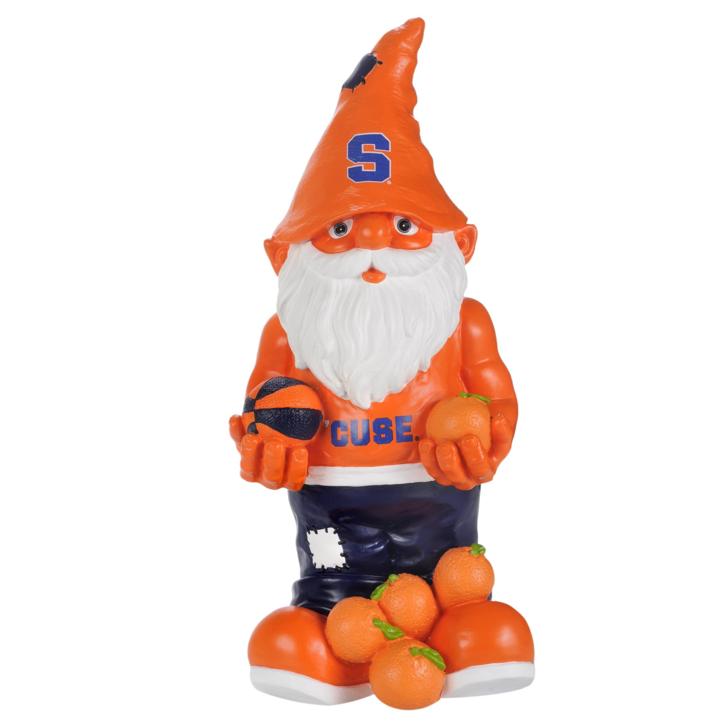 Syracuse Orangemen 11-inch Thematic Garden Gnome - Thumbnail 1