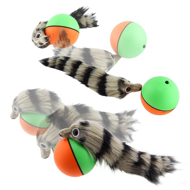 Green Orange Weasel Ball For Pets Free Shipping On