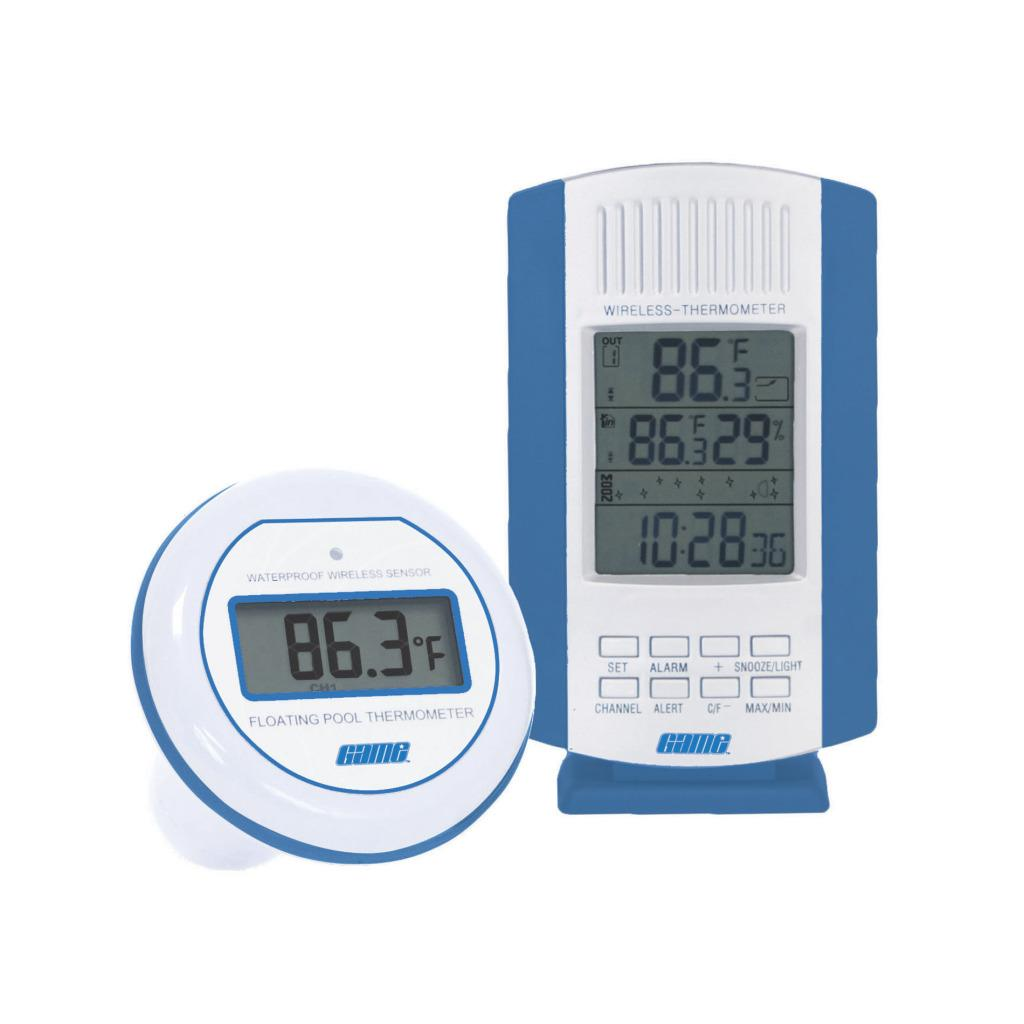 Wireless Digital Pool Thermometer and Sensor - Thumbnail 1