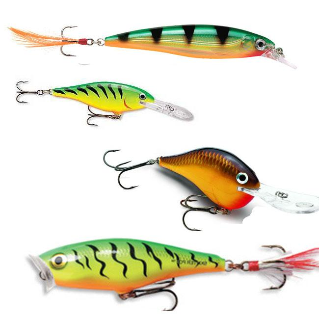 rapala assortment fishing lures (pack of 4) - free shipping on, Reel Combo