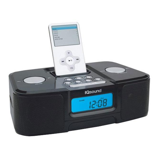 IQ-Sound 1307 iPod MP3 Black Speaker
