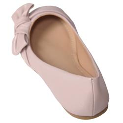 Journee Collection Girl's Bow Detail Ballet Flats