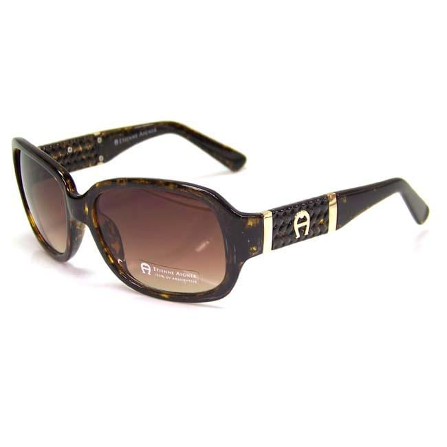 Etienne Aigner 'EA Lyon' Women's Tortoise Fashion Sunglasses